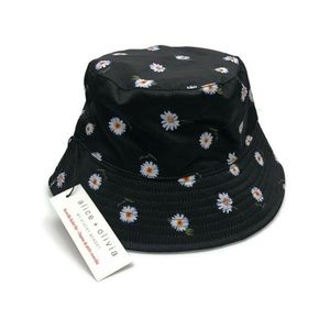 Alice + Olivia Reversible Daisy Bucket Hat